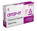 Cefpodoxime Proxetil Dispersible Tablets 50 mg