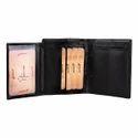 LWFMP00073 Black Mens Leather Wallet