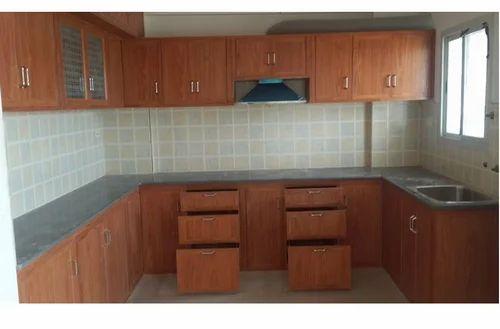 Brown Pvc Kitchen Cabinet Rs 200 Square Feet Sri Kamakshi Enterprises Id 2305289991