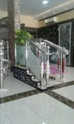 Stainless Steel Stairs Railings, Floor