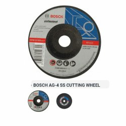 BOSCH AG-4 CUTTING WHEEL