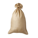 Brown Plain Jute Hessian Bag