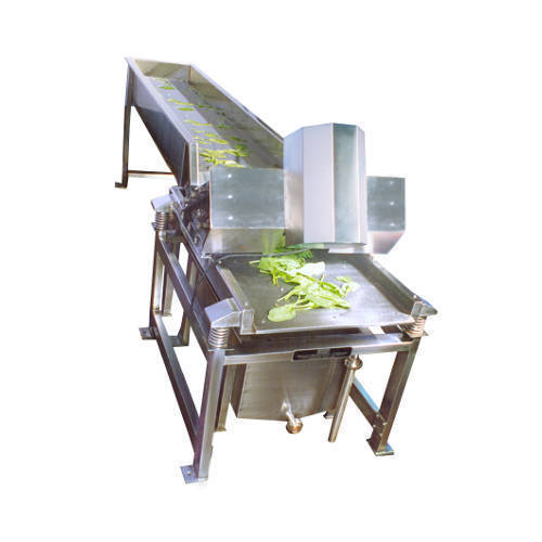VK Industries Fruits and Vegetable Washer, Capacity: 1000-1500 Kg/Hr