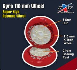 Gyro 110 mm Wheel Set