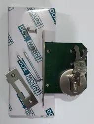 CLEAN ROOM DOOR Deadbolt Stainless Steel 304 Dead Lock With Cylinder, Model Name/Number: DDLDL100, Size/Dimension: 138 Mm