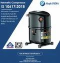 ISI Mark Certification for Hermetic Compressor