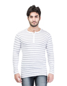 Fashionable Henley Neck T-Shirt for Men