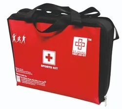 Fabric Professional First Aid Boxes Sport First Aid Kit, Packaging Type: Bag