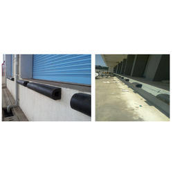D Type Rubber Dock Bumpers