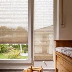 PVC Pleated Blind, For Balcony, Windows