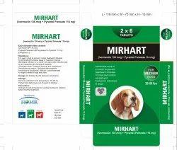 Mirhart (Medium Dog) De-Wormer