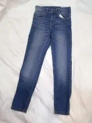 Zip Stretchable Cotton boys and girls jeans, Age Group: 2 to 16 yrs
