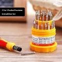 31piece Mini Household Hand Mixed Screwdriver Tool Set Kit  - Mini Screwdriver Set Of 31