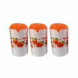 Orange Plastic Water Jug