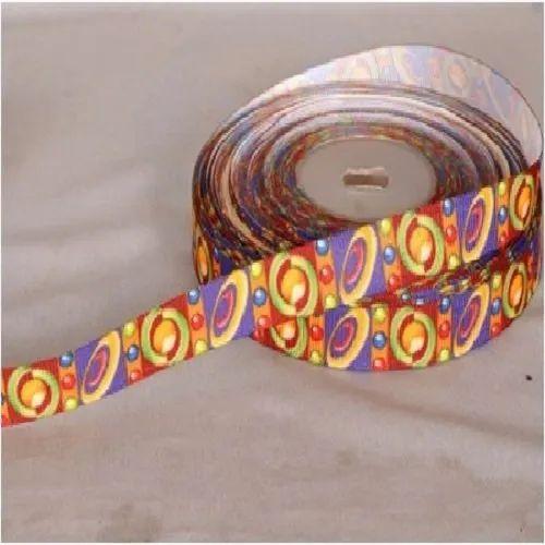 Printed Grosgrain Ribbon Christmas Ribbons
