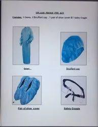 Splash Proof Gown PPE Kit