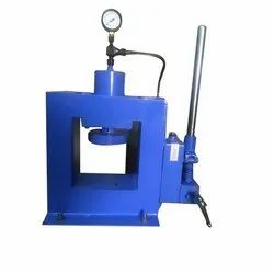 Hand Operated Hydraulic Embossing Machine