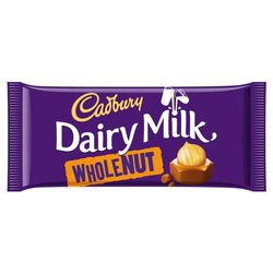 Dairy milk whole nut