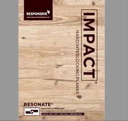 Impact Resonate Hard Interlocking Plank
