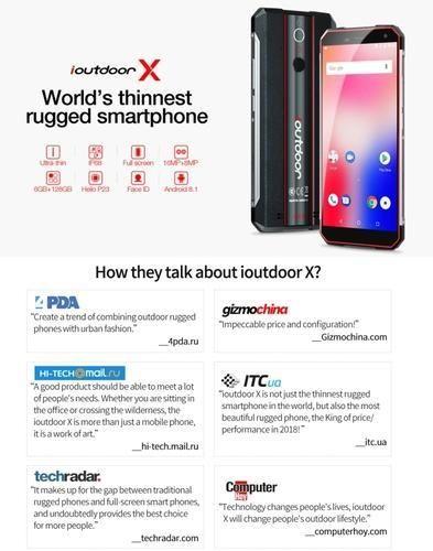 watch 055c8 ac47f Ioutdoor x Rugged Smartphone