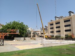 Concrete Industrial Projects School Building Construction Services