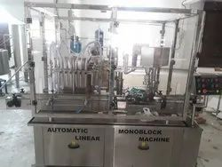 Mustard Oil Filling and Capping Machine