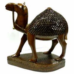 Wooden Undercut Paoti Camel Black Finishing Work