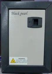 Black Prarl Mild Steel (MS) 4 Way SPN Double Door MCB Box, For Electric Fittings