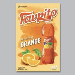 Favrito 200ml Orange Juice Drink, Packaging Type: Bottle