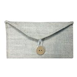 Brown Jute Envelope