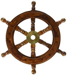 Sailors Nautical Design Ship Wheel