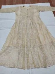 Kashmiri Embroidery Cotton Kurti
