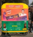 Auto Rickshaw Printed Advertisement Sheet