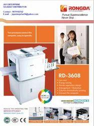 Rongda Digital Duplicator Machine, RD-3608