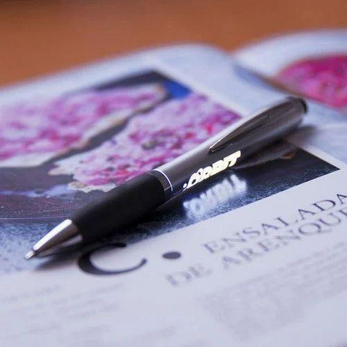Customized Logo Light Pen Fine Writing