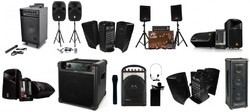 Wired and Wireless Rental of Sound System