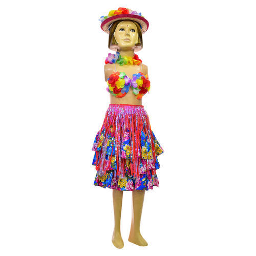 31713a679d Girls Net Hawaiian Dress, Size: Large, Rs 1060 /piece, Alpana Fancy ...