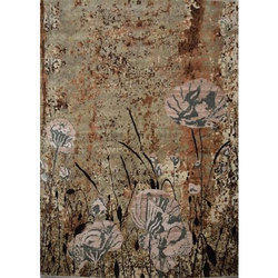 Hand Knotted Contemporary Carpet