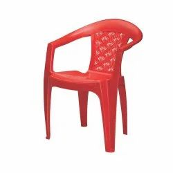 CHR 2041 Nilkamal Low Back With Arm Plastic Chair
