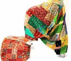 Indian Harem Cotton Pants Aladdin Pants Women Festival Patchwork Boho Pant
