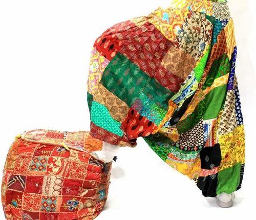 2798da4a9a Indian Harem Cotton Pants Aladdin Pants Women Festival Patchwork Boho Pant