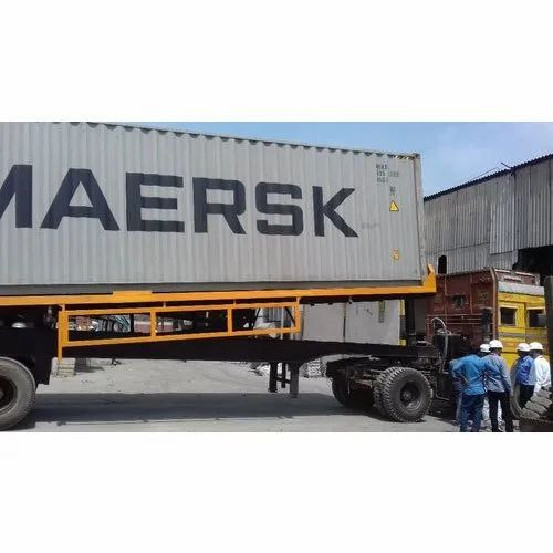 40 Feet Container Tipping Trailer