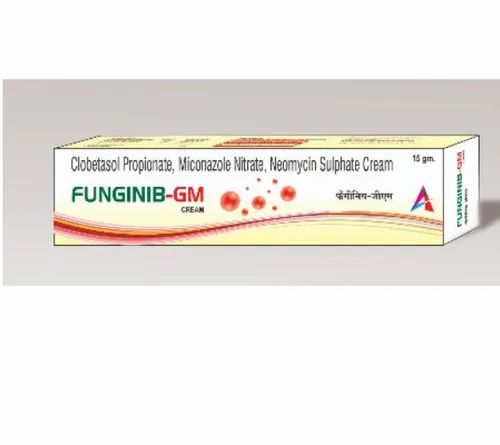 Funginib-GM Anti Allergic Skin Cream, Packaging Type