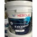 Rich Soft Sheen White Nerolac Excel Total Emulsion