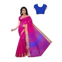 Womens Soft Cotton Silk Saree