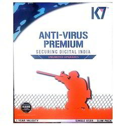 K7 Antivirus Software 1 PC 1 Year Instant Email Delivery Available
