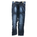 Boys Blue Washed Jeans, Size: 32 To 40