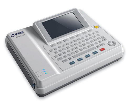12 Channel Touch Screen ECG Machine