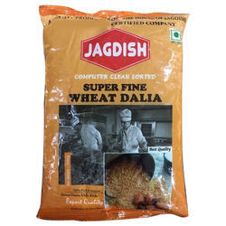 Jagdish 500 gm Super Fine Wheat Daliya, Packaging: Packet