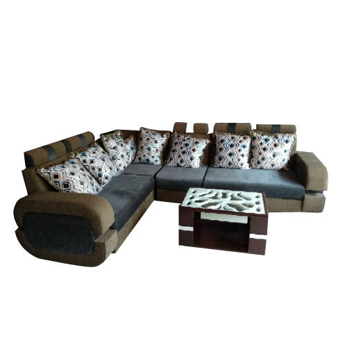 L Shaped Sofa Set, Shape: L Shape